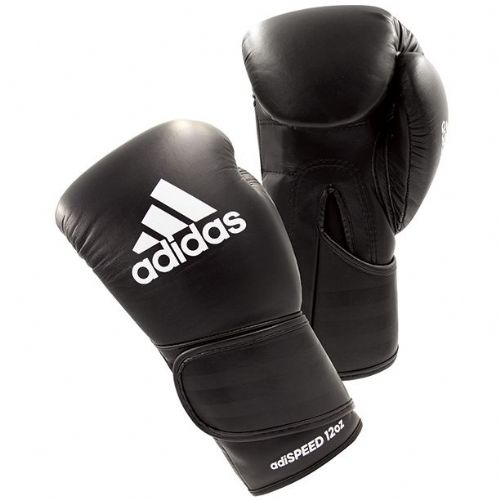 Adidas Adispeed Boxing Gloves - Black/White